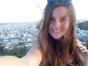 Alone at the Acropolis [WARNING #selfie]