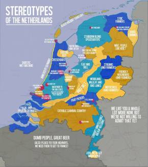 The Netherlands explained in a comicalfashion