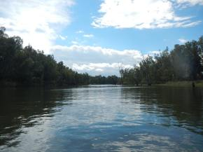 Camping on the Murray River