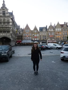 The last Belgian city: Ypres